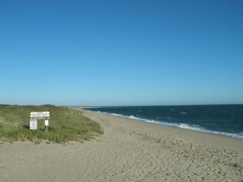 South Cape Beach in autumn