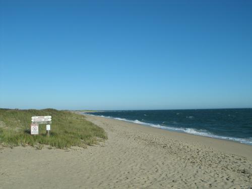 South Cape Beach in autumn