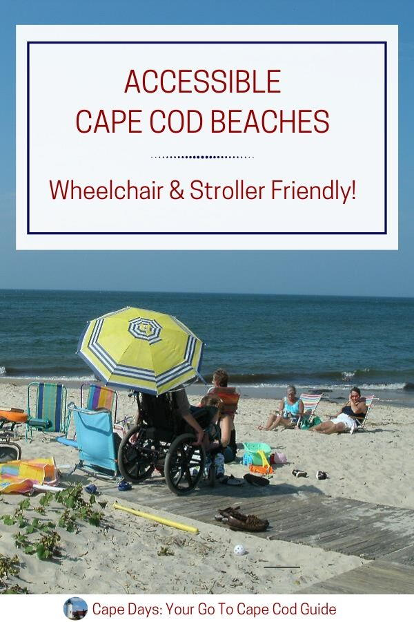Person using wheelchair at the beach - Save to Pinterest