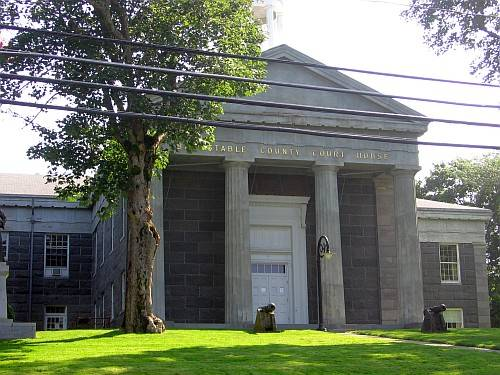 Historic Courthouse site in Barnstable MA