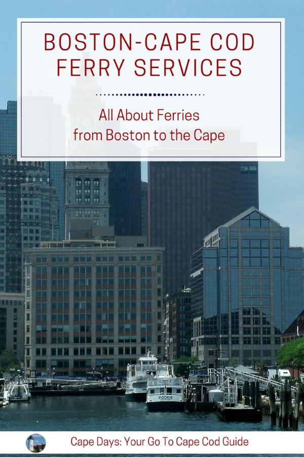 Boston - Provinceton (Cape Cod) Ferries