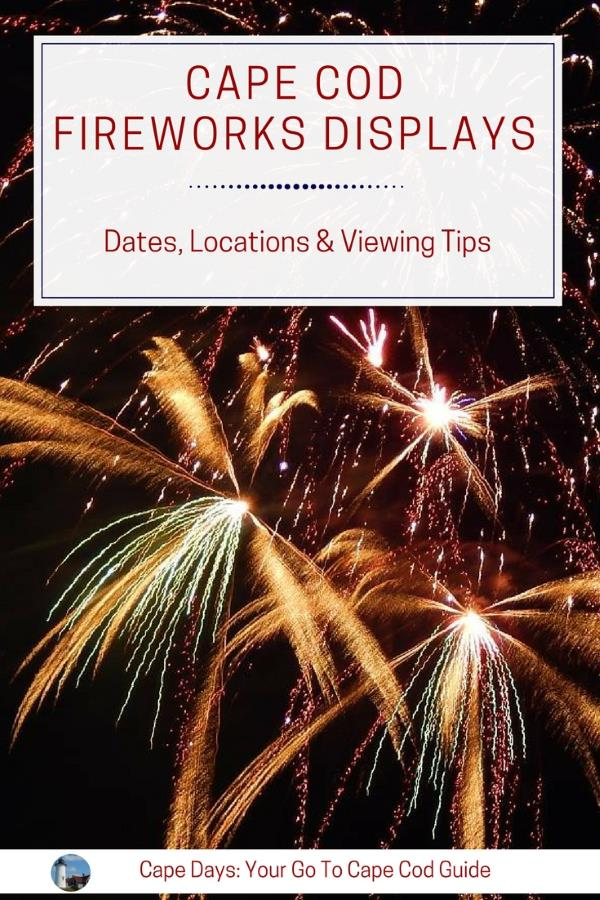 Cape Cod fireworks display guide