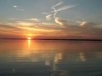 Autumn Sunset On Nantucket Sound