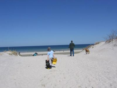 Mayflower Beach in Late April