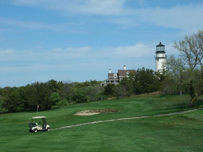 View of Highland Links Golf Course and Cape Cod Lighthouse