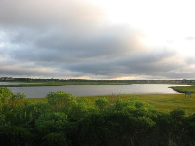 Sunrise Over the Marsh at Seagull Beach (Nantucket Sound)