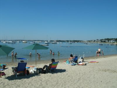 Monument Beach in Bourne MA