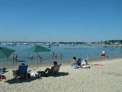 Monument Beach in Bourne MA