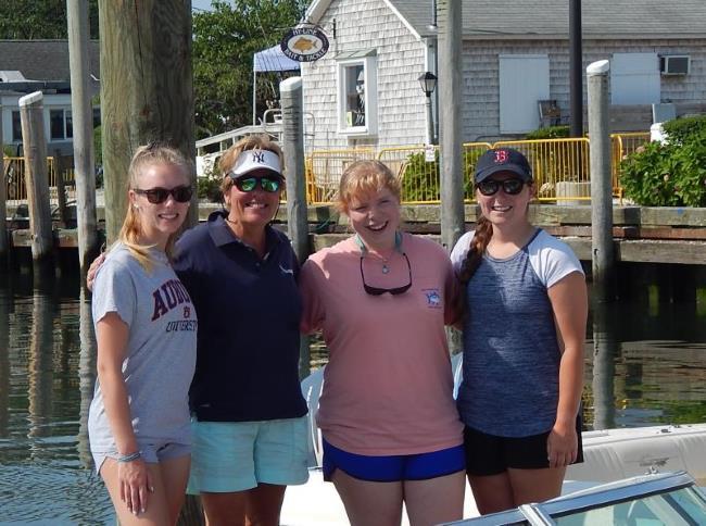 Sail Cape Cod instructors and me