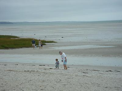 Low Tide at Skaket Beach