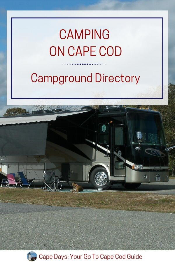 Save this Cape Cod campgrounds information to Pinterest