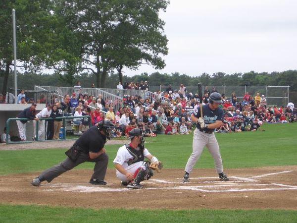 Cape Cod Baseball League game Brewster vs YD