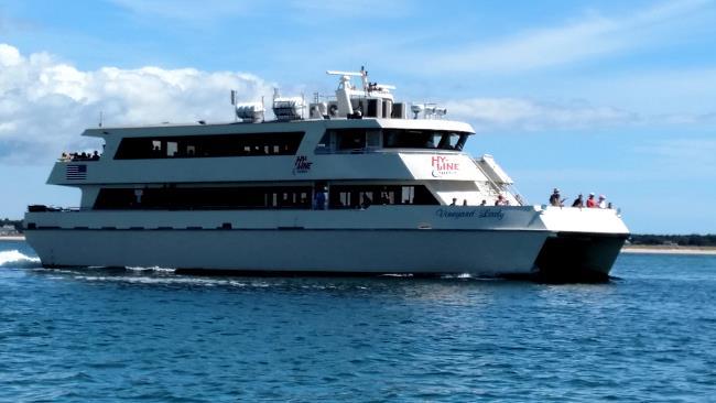 Ferry to Marthas Vineyard