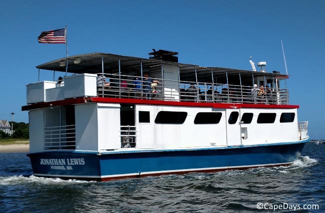 Hyannisport Harbor tour cruise boat
