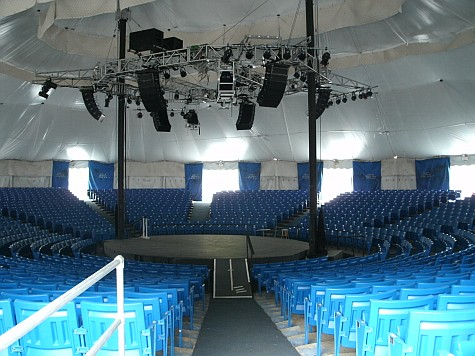 A look inside the Cape Cod Melody Tent
