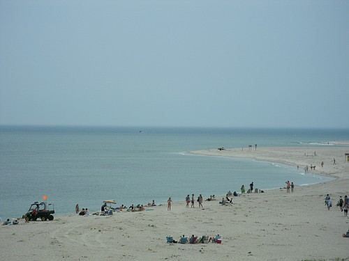 View of Lighthouse Beach in Chatham MA