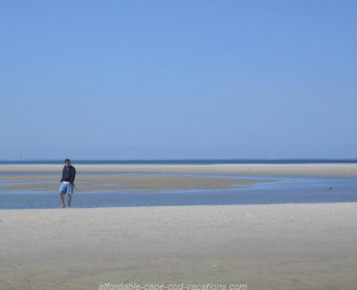 Chapin Beach at Low Tide (Cape Cod Bay)