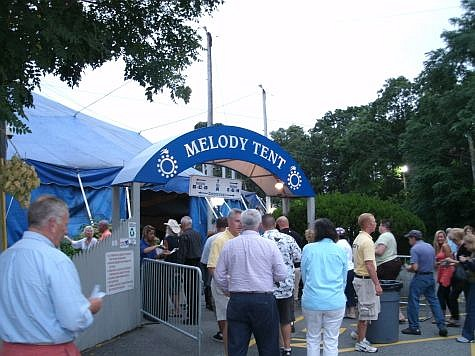 Entrance to Cape Cod Melody Tent