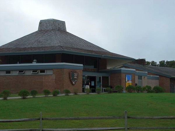 Entry to Cape Cod National Seashore's Salt Pond Visitor Center