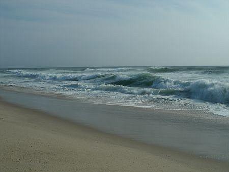 surf and sand at nauset beach