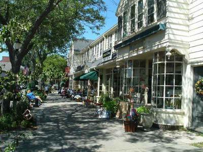 Falmouth Village Main Street