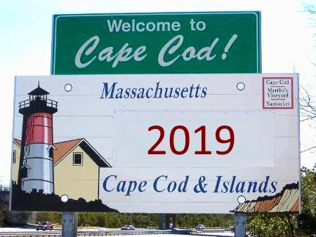 welcome to cape cod 2019 sign